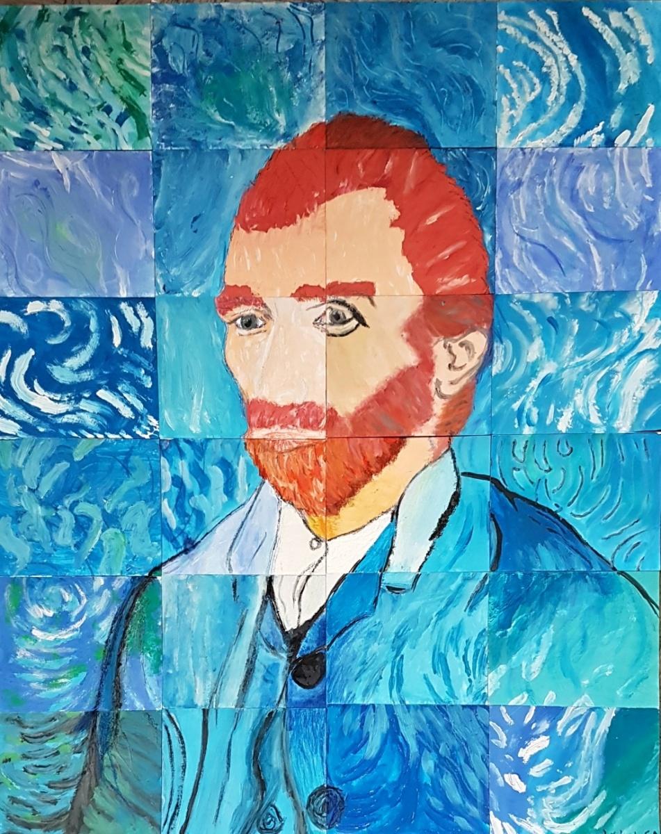 Gogh-Autoportrét-společná-práce-6.A