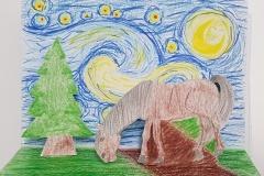 Gogh-Starry-Night-parafráze-3D-Vlčková-7.r
